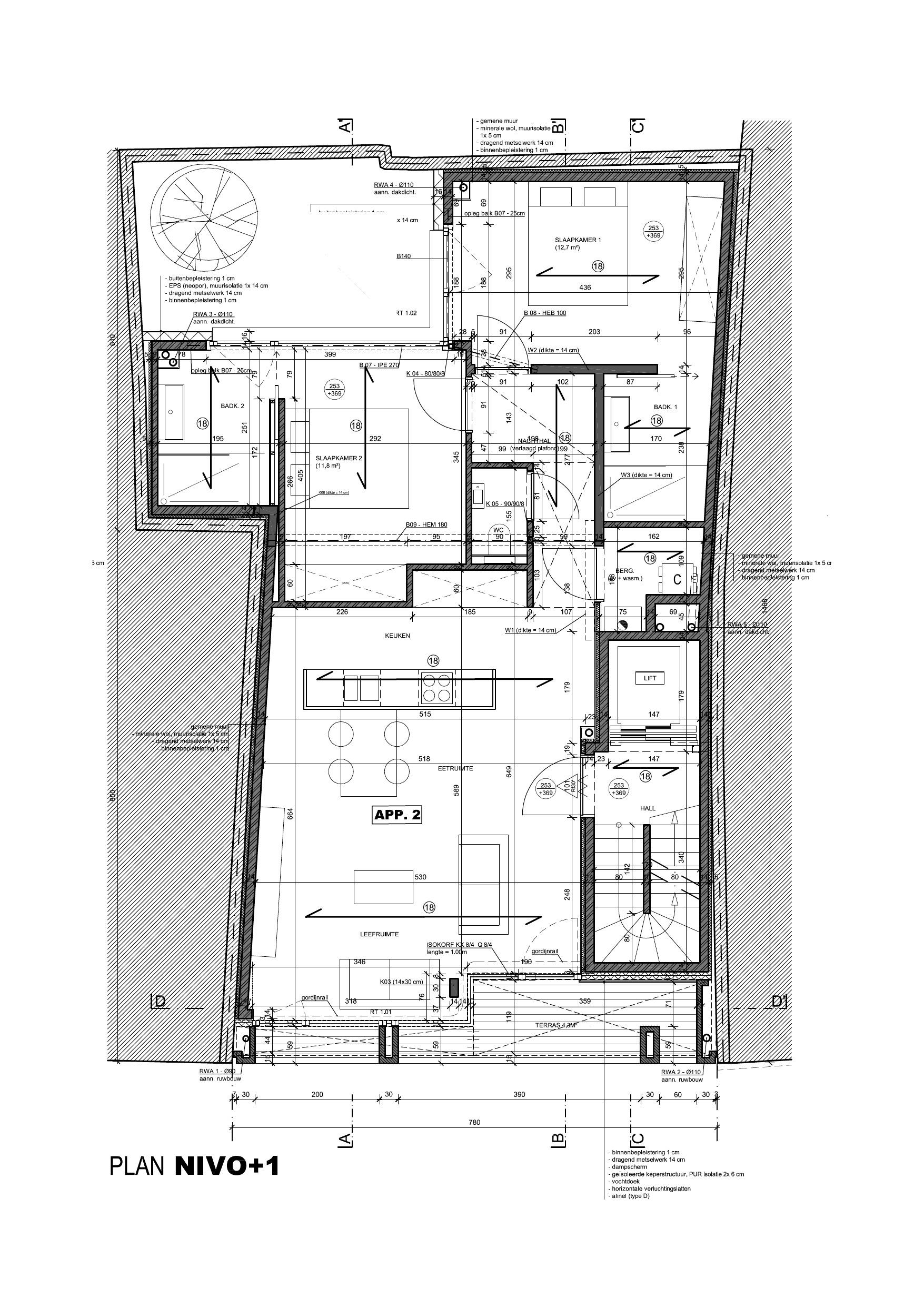 K-appart 1ste verdieping